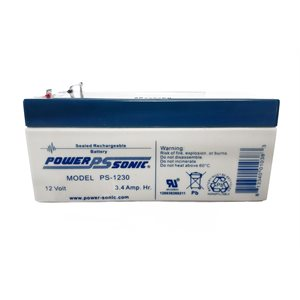 12V Rechargeable Battery for Satellite Units