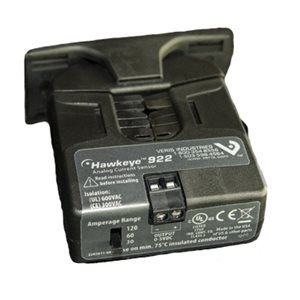 Current Transformer, 0-30 / 60 / 120 Amps (Selectable)