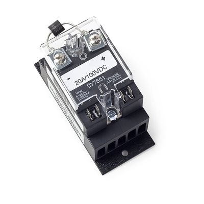 20A 100V DC Solid-State Relay, Normally Closed