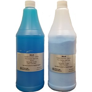 Twin Pack: Antifreeze and Copper Sulfate Crystals